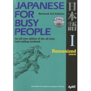 Japanese for Busy People: Romanized [With CD (Audio)], Paperback