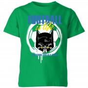 Batman Camiseta Fútbol DC Comics Batman Football Is Life - Niño - Verde - 7-8 años - Kelly Green