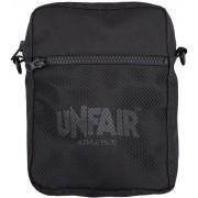 Unfair Athletics Classic Label Pusher Bag Herren Umhängetasche schwarz