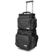 UDG U9679bl/or Ultimate Slingbag Trolley Set Dlx Black/orange