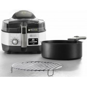 DeLonghi Heissluftfritteuse MultiFry EXTRA CHEF PLUS FH1396, 2400 W, Multicooker mit 4-in-1 Funktion, auch zum Brotbacken