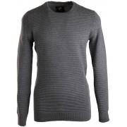 Suitable Pullover Guido Dunkelgrau - Grau L