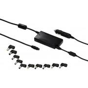 Hama - Hama Universele Notebook-voedingsadapter Voor Auto 12-24Volt 90Watt - Altijd Garantie