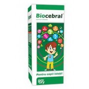 Biocerbal Kids (150 ml) – Sirop – creste capacitatea de concentrare
