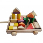 Qtoys Blocks Wagon