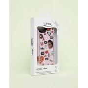 Lumee Чехол для iPhone 6/6s/7/8 с кимоджи LuMee DUO - Розовый