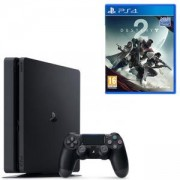 Конзола PlayStation 4 Slim 500GB Black, Sony PS4 + Игра Destiny 2 PS4