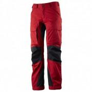 Lundhags - Women's Authentic Pant - Pantalon de trekking taille D20 - Short / Wide, rouge/noir