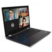 Лаптоп Lenovo ThinkPad L13 Yoga, Intel Core i7-10510U (1.8GHz, 8MB), 8GB DDR4, 512GB SSD, 13.3 инча (1920x1080), черен, 20R5000FBM/3