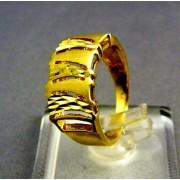 Zlatý dámsky prsteň mohutný žlté zlato VP52410Z