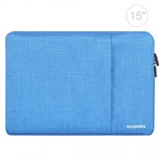 HAWEEL 15.0 inch Sleeve Case Zipper Briefcase Laptop Carrying Bag For Macbook Samsung Lenovo Sony DELL Alienware CHUWI ASUS HP 15 inch and Below Laptops(Blue)