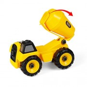 Tumama Machine Construction Engineering Toy Construct and Play Series Play SetTruck Toy Car Standard Size (Mixer)