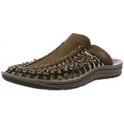 KEEN Men's UNEEK Slide Sandal, Dark Earth//Brindle, 12 M US