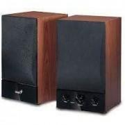 Boxe 2.0 Genius SP-HF 1250B, 40W RMS, Cherry Wood