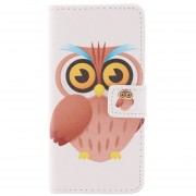 """MULBA Owl Card Holder Cover For Iphone 6 PLUS 5.5 """",Magnetic Style PU Leather Case Wallet Flip Stand Flap Closure Cover For Apple Iphone 6 PLUS 5.5 """"inch"""