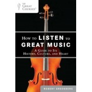 How to Listen to Great Music: A Guide to Its History, Culture, and Heart, Paperback