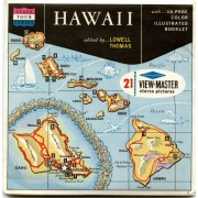 Classic ViewMaster - United States Travel - Hawaii State Tour Series The Aloha Statei- ViewMaster Reels 3D