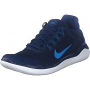 Nike Free Rn 2018 Blue Void/photo Blue-indigo, Skor, Sneakers & Sportskor, Löparskor, Blå, Herr, 44