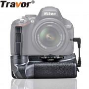 Travor Batterij Grip Houder Voor Nikon D5100 D5200 D5300 DSLR Camera werk met EN-EL14