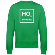 Ho Ho Ho Christmas Sweatshirt - Green - XL - Green