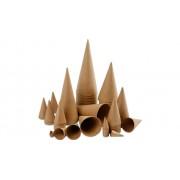 Creotime 50 Pappkegel, verschiedene Grössen