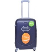PRAGEE EXCLUSIVE STYLISH 24 INCHES CHECK IN LUGGAGE TROLLEY BAG(HARD SHELL) Check-in Luggage - 24 inch(Blue)