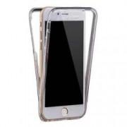 Husa protectie IMPORTGSM pentru Apple iPhone 5/5S/SE Silicon Protectie Fata/Spate-360Grade Transparenta