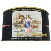 Anchoas en salazón pesca de primavera La Castreña lata de 5 kg.