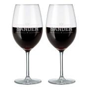 YourSurprise Rood wijnglas - set van 2
