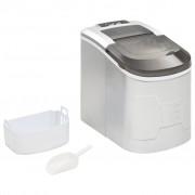vidaXL IJsblokjesmachine 2,4 L 15 kg/24 u zilver