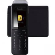 Безжичен DECT телефон Panasonic KX-PRW110, Черен, 1015083