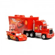 Set of 2 Simulation Toy Car Models Chick Hicks of Animated Movie Car Model