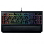 Клавиатура Razer Blackwidow Chroma v2, гейминг, Green Yellow, подсветка, черна, USB