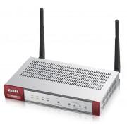 ZyXEL USG40W (Device only) Firewall Appliance 10/100/1000, 3x LAN/DMZ, 1x WAN, 1x OPT, 802.11b/g/n