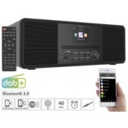 VR-Radio Radio Internet stéréo 20 W avec lecteur CD/DAB+/FM/bluetooth IRS-680 - Noir