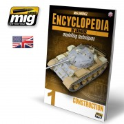 A.MIG-6150 - ENCYCLOPEDIA OF ARMOUR MODELLING TECHNIQUES VOL. 1 - CONSTRUCTION ENGLISH