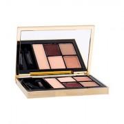 Estée Lauder Pure Color 5-Color Palette paletka očních stínů 7 g odstín 05 Fiery Saffron pro ženy