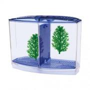 PENN PLAX BETTA akvárium 20x10x15 s prepáž.,2x rastlina + štrk