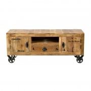 LUMZ Rustiek tv meubel van hout