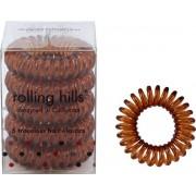Rolling Hills Professional Hair Rings Coffee Haargummi