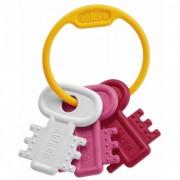 Chicco 63216100000 - Mordedor Con Diseño De Llavero Color Rosa
