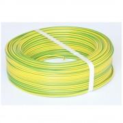 Rola 100m MYF 2.5 galben/verde (ROMCAB)