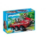 Playmobil Treasure Camp Hunters Amphibious Truck Set