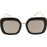 Voyage Retro Square Sunglasses(Silver)