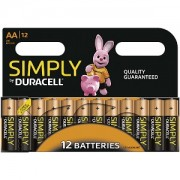 Duracell Simply AA 12 Pack (MN1500B12S)