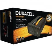Duracell 800W Power Inverter with Dual AC & USB (DRINV80-UK)