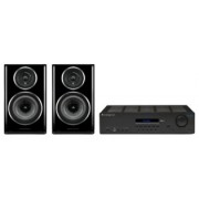 Pachete PROMO STEREO - Wharfedale - Diamond 11.2 + Cambridge Audio Topaz SR20 Walnut