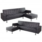 Coltar extensibil Chaise Lounge antracit