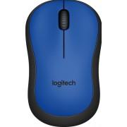 Logitech M220 Silent - Muis - optisch - 3 knoppen - draadloos - 2.4 GHz - USB draadloze ontvanger