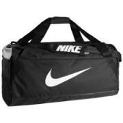 Nike Sporttas Brasilia Duffel M - Zwart/Wit